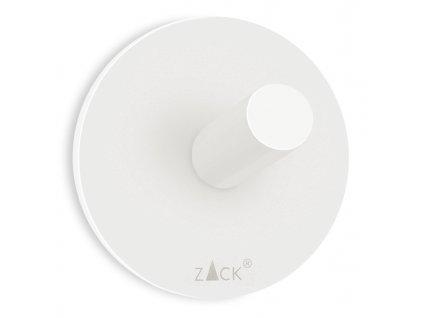 háček na ručníky kulatý nerezový bílý větší DUPLO Zack