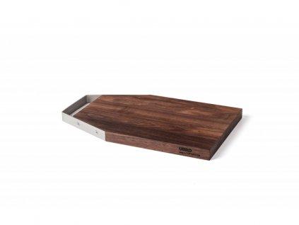Krájecí prkénko dřevěné Nerez S kartáčovaný lesk