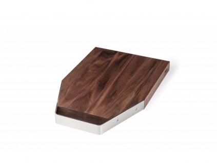 Krájecí prkénko dřevěné Nerez M kartáčovaný lesk