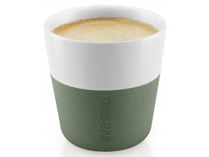 Hrnky na espresso 80 ml set 2 kusů kaktusově zelený Eva Solo
