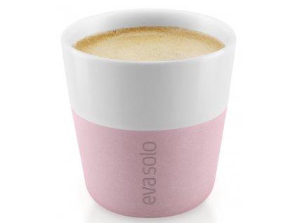 Hrnky na espresso 80 ml set 2 kusů růženínové Eva Solo