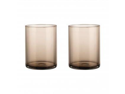 Set 2 skleniček mera kávové 220 ml