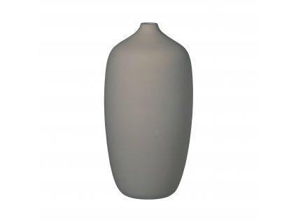 Váza 25 cm ceola šedivá
