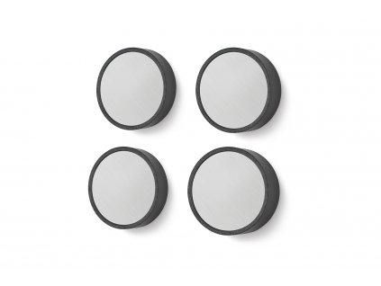 Set 4 kusů magnetů monor nerezových větších ZACK