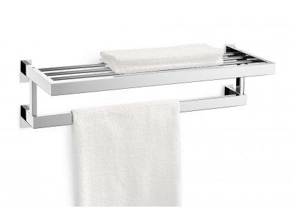 Police na ručníky LINEA nerezová lesklá ZACK