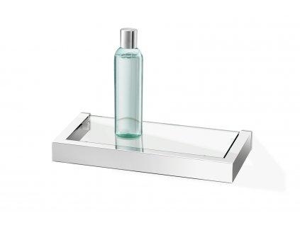 Koupelnová polička LINEA nerezová lesklá 26,5 cm ZACK