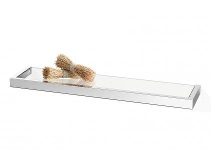Koupelnová polička LINEA nerezová lesklá 61,5 cm ZACK