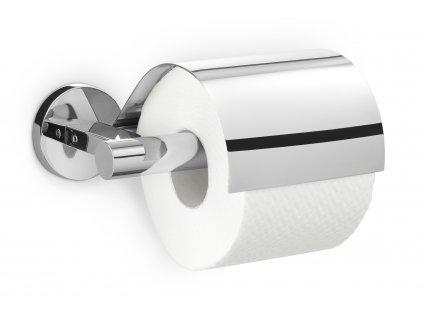 Držák na toaletní papír s krytem SCALA nerezový lesklý ZACK