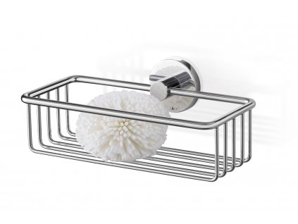 Koupelnový košík SCALA nerezový lesklý menší ZACK