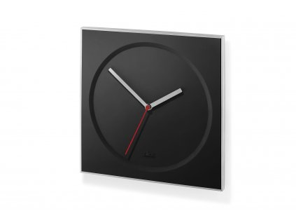 Nástěné hodiny černé HOYO ZACK