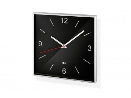 Nástěné hodiny černé SILLAR ZACK