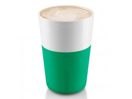Termohrnky na café latte 360 ml 2 kusy tmavě zelené, Eva Solo