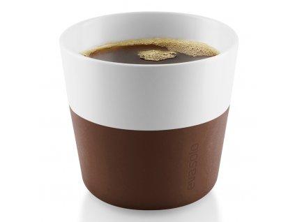 Termohrnky na kávu Lungo 230 ml 2 kusy hnědé, Eva Solo