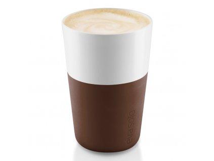 Termohrnky na café latte 360 ml 2 kusy hnědé, Eva Solo