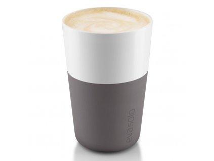 Termohrnky na café latte 360 ml 2 kusy šedé, Eva Solo