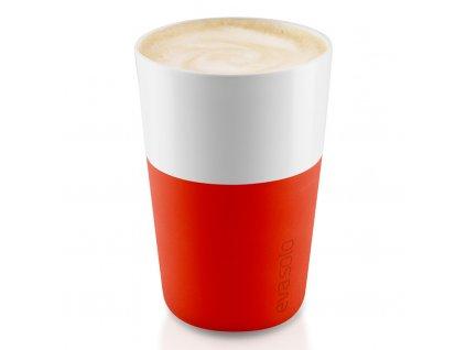 Termohrnky na café latte 360 ml 2 kusy oranžové, Eva Solo