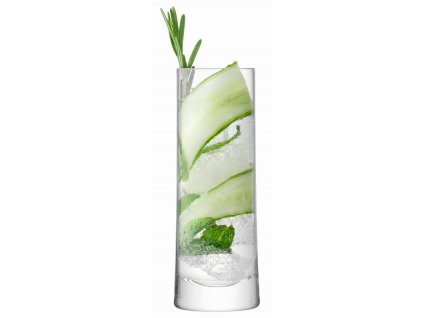 Gin vysoká sklenice 380ml čirá, set 2ks, LSA