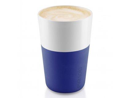 Termohrnky na café latte 360 ml 2 kusy tmavě modré, Eva Solo