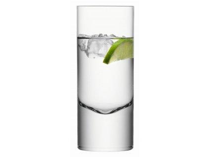 BORIS vys.sklenice 360ml,čiré set 2ks, LSA