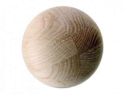 LSA Dekorační kulička z masivního jasanu, 8 cm