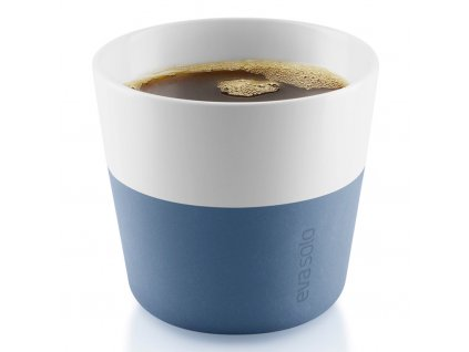 Termohrnky na kávu Lungo 230 ml 2 kusy modré, Eva Solo