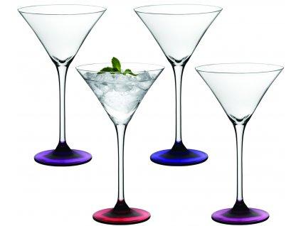 LSA Coro koktejlová sklenice Set 4ks lesní plody
