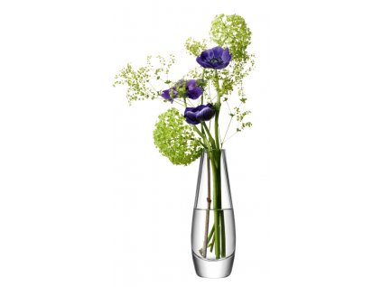 LSA Flower Single stem váza 17cm čirá
