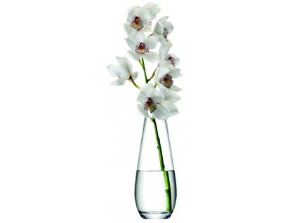 LSA Flower Tall stem váza 29cm čirá