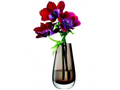 LSA Flower váza malá, 14cm, mocha