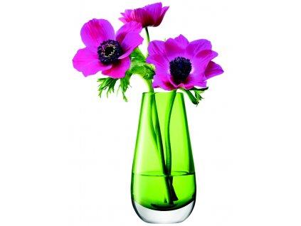 LSA Flower váza malá, 14cm, limetka