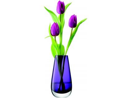 LSA Flower váza malá, 14cm, nachová/fialová