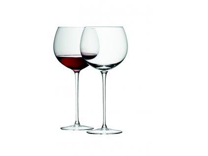 LSA Wine sklenice na víno baloon 570ml, Set 4ks