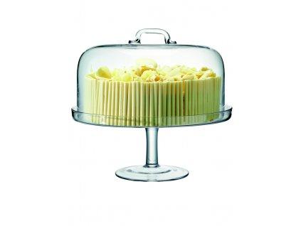 LSA Serve stojan na dorty s poklopem 34,5cm
