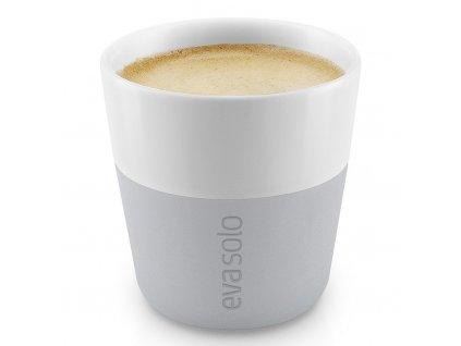 Termošálky na espresso 80 ml 2 kusy světle šedé, Eva Solo