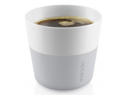 Termohrnky na kávu Lungo 230 ml 2 kusy světle šedé, Eva Solo