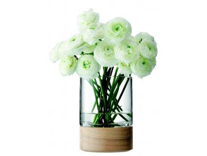 LSA Lotta váza s jasanem 18cm