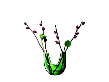 LSA Gaudi váza 22cm zelená