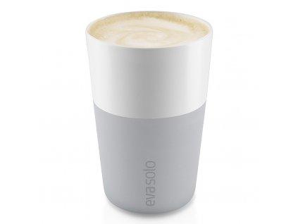 Termohrnky na café latte 360 ml 2 kusy světle šedé, Eva Solo