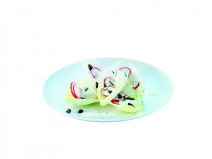 LSA Dine Coupe talíř 20cm, set 4ks bílý