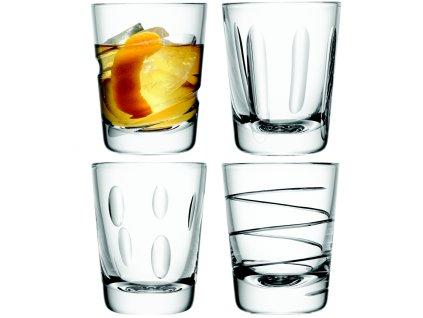 LSA Charleston sklenice tumbler 250 ml, čiré, 4 ks