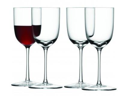 LSA BAR skleničky na portské, 190 ml, 4 ks, čiré