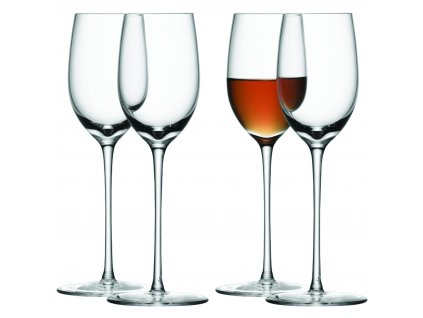 LSA BAR skleničky na sherry, 190 ml, 4ks, čiré
