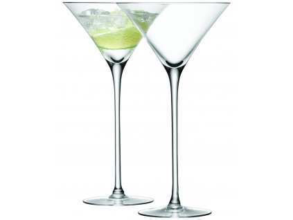 LSA sklenice na koktejl BAR, 275 ml, 2 ks, čirá