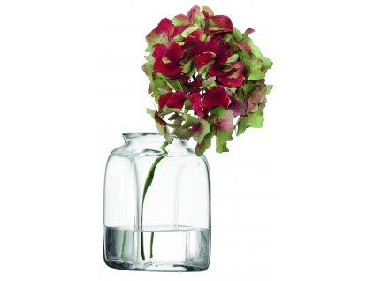 LSA váza Umberto, 14 cm, čirá