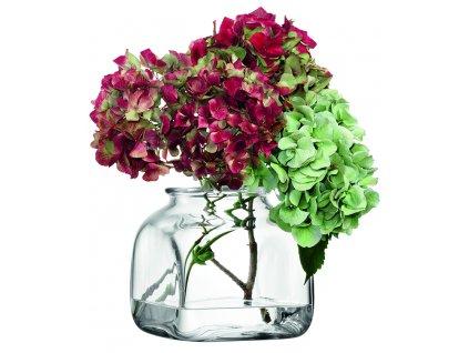 LSA váza Umberto, 15 cm, čirá