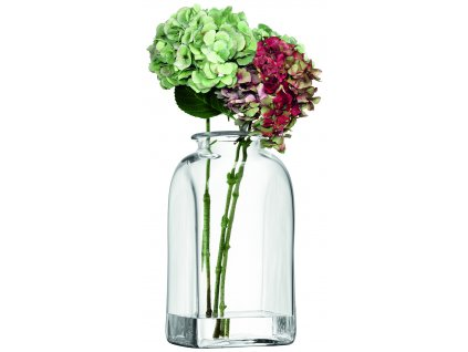 LSA váza Umberto, 40 cm, čirá
