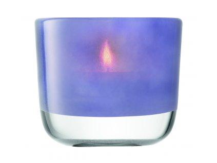 LSA svícen Inza, 9 cm, nachový opar