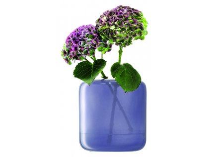 LSA váza Inza, 20 cm, nachový opar
