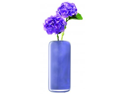 LSA váza Inza, 36cm, nachový opar