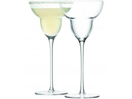 LSA Bar sklenice na margaritu, 250 ml, 2 ks, čirá